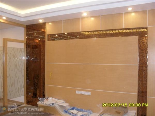 玻璃背景墙 (3)
